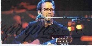 Eric Clapton Signed program page autographs