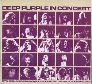 Ian Gillan Autograph Deep Purple In Concert Lp