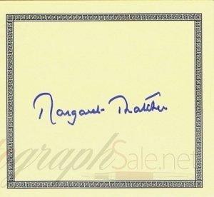 Margaret-Thatcher-autograph