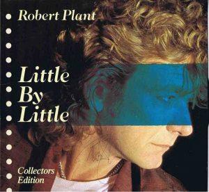 Robert Plant Led Zeppelin autograph Little By Little lp