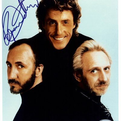Roger Daltrey autograph photo The Who