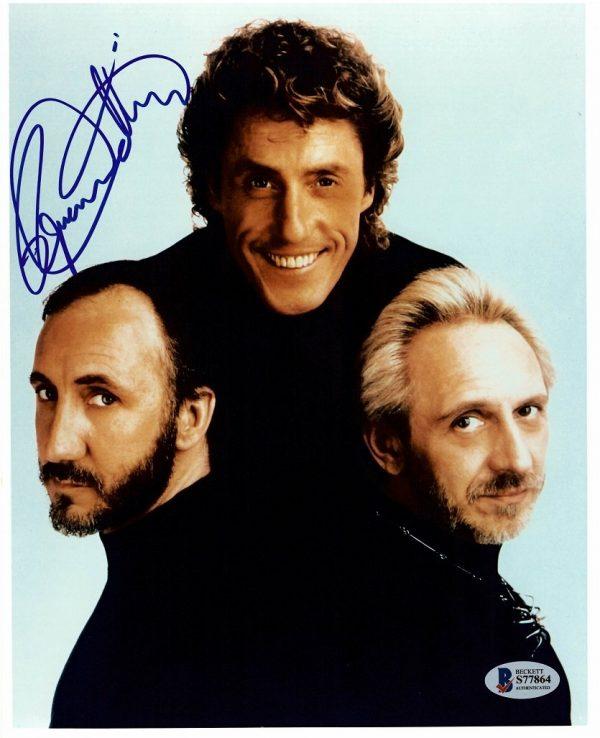 Roger Daltrey autograph photo The Who