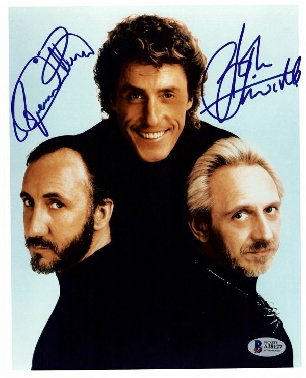 Roger Daltrey and John Entwistle Autograph photo