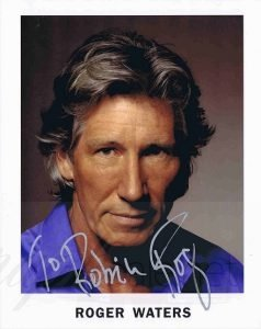 roger waters autograph pink floyd autographs for sale