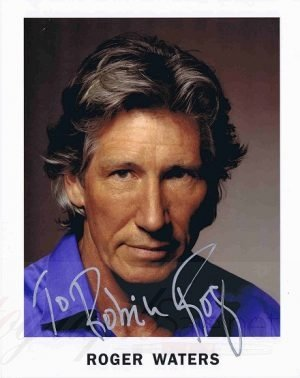 Roger Waters Autographed promo photo Pink Floyd