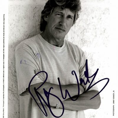 Roger Waters Autographed promo photo 8×11 Pink Floyd