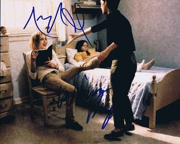 Angelina Jolie and Winona Ryder Autographs