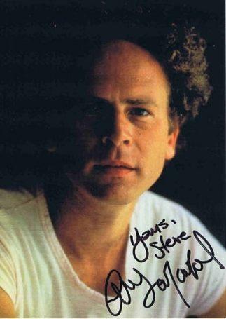 Art Garfunkel Autographed photo