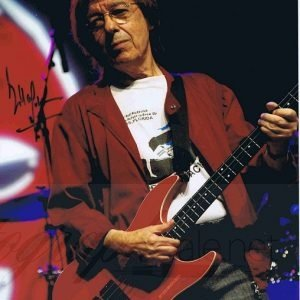 Bill Wyman Autograph colour photo The Rolling Stones – Music Autographs