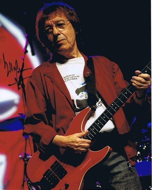 Bill Wyman Autograph colour photo The Rolling Stones - Music Autographs