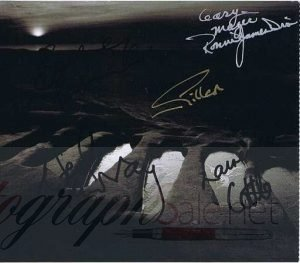 Black Sabbath autograph CD Cover 5 members
