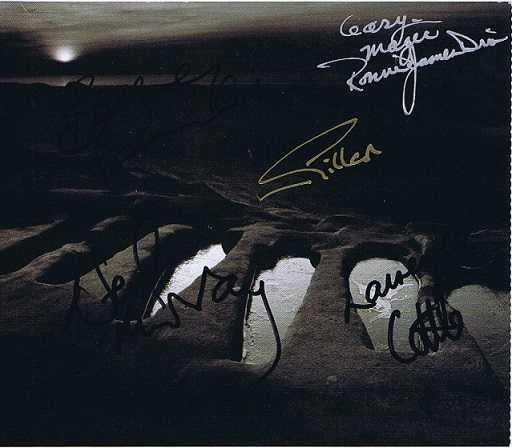 Black Sabbath autograph CD Cover 5 singers