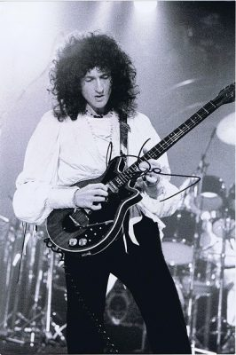 Brian May of Queen Autographed photograph 12×8 #2