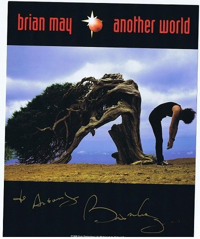 Brian May [Queen] Autographed colour photo Another World