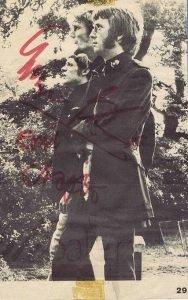 Cream Autographs Eric Clapton, Ginger Baker and Jack Bruce