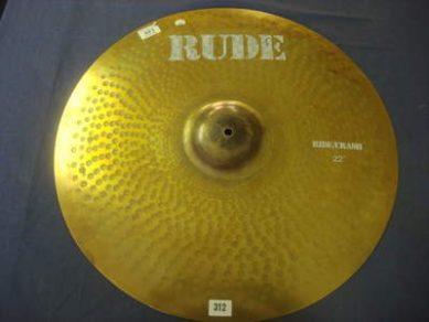 Cozy Powell used cymbal from Estate Black Sabbath Rainbow