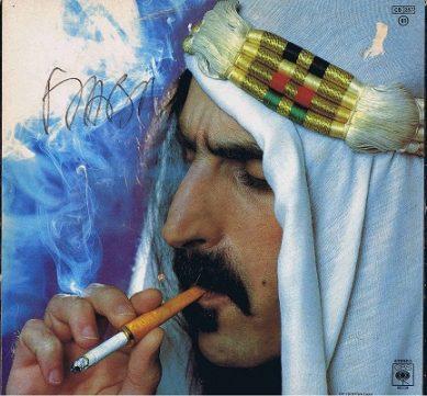 Frank Zappa Autographed Sheik Yerbouti Lp