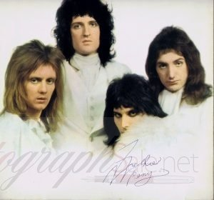 Freddie Mercury Autographed QUEEN 2 Lp - Music Autographs