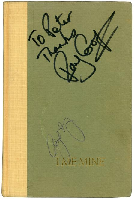 George Harrison [The Beatles] Autograph I ME MINE