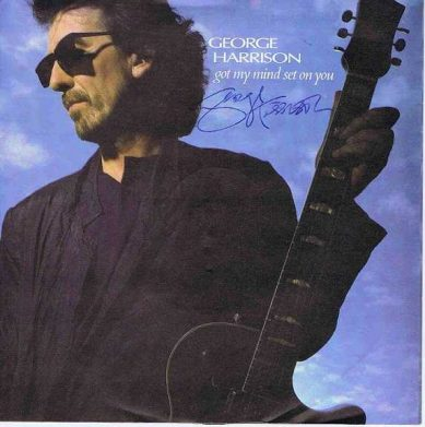 George Harrison Got My Mind Set On You autograph
