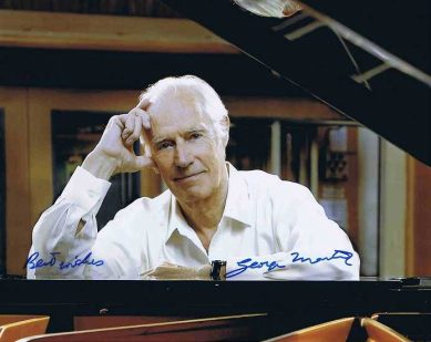 George Martin Autograph The Beatles