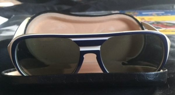 George Harrison's personal owned and worn Ray-Ban sunglasses