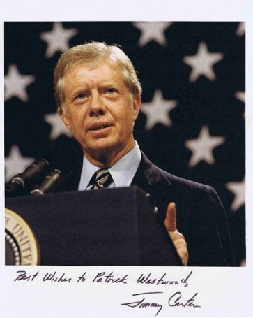 Jimmy Carter Autograph photo US President