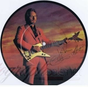 John Entwistle The Who Autographed Don't Be A Hero 7″ single