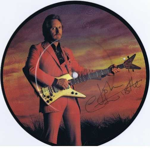 John Entwistle The Who Autographed Too Late the Hero 7 single Limited Edition