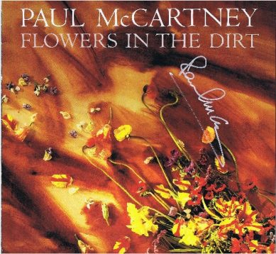 paul mccartney the beatles autograph flowers in the dirt autograph autographs for sale