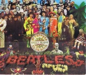 Peter Blake Autographed Sgt Peppers CD Cover The Beatles.