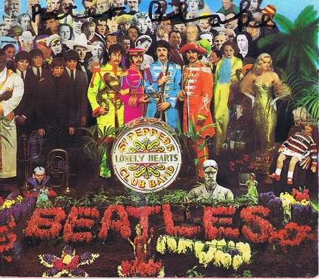 Peter Blake Autograph Sgt Peppers CD Album The Beatles