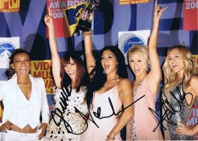 The Pussycat Dolls autographed photo Nicole Scherzinger Ashley Roberts Jessica Sutta