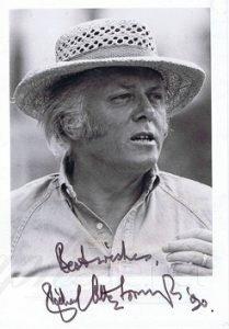 Richard Attenborough Autograph photo autographs for sale