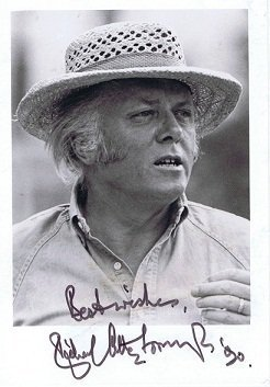 Richard Attenborough Autograph photo autographs for sale
