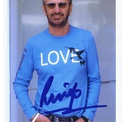 Ringo Starr The Beatles Autograph | The Beatles Autographs
