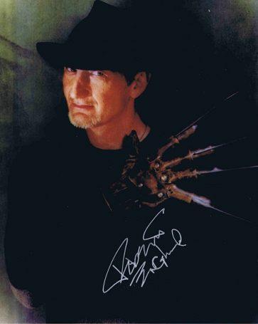 Robert Englund Autograph Freddy Krueger