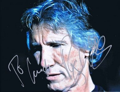 Roger Waters Autographed photo Pink Floyd