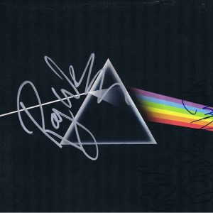 Pink Floyd Autograph Dark Side Of The Moon