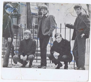 The Rolling Stones signed photo card