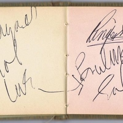 The Beatles John Lennon Paul McCartney Autographs Ringo