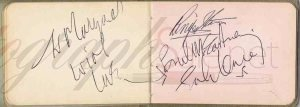 The Beatles Autographs 1965 autographs for sale John Lennon, Paul McCartney, Ringo Starr