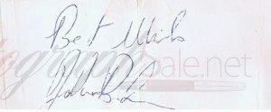 John Bonham autograph led zeppelin 10