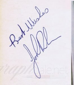 John Bonham signed led zeppelin 2