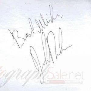 John Bonham autograph led zeppelin 3