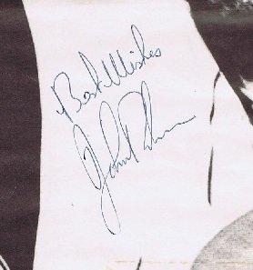 John Bonham autograph led zeppelin 7
