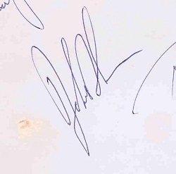 John Bonham autograph led zeppelin 8