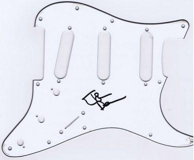John Deacon Autograph Fender Pickguard Queen