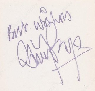 jimmy page autograph led zeppelin