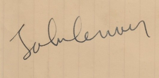 john lennon autographed april 1966